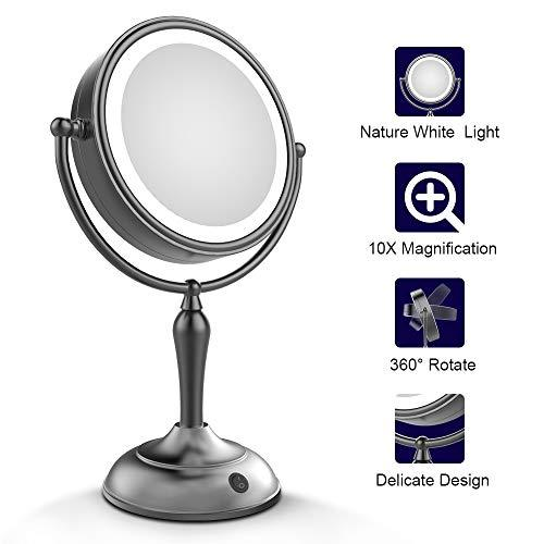 Mirrormore Lighted Makeup Mirror 7 5 Inch Lighted Vanity