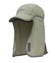 Outdoor Research Kid's Sun Runner Cap Full Face & Neck Protection Hat Da... - $12.93