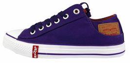 Levi's Men's Classic Premium Casual Sneakers Shoes Buck Lo Twill 514887-32L image 7