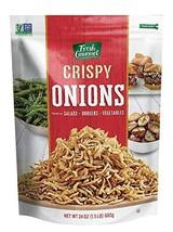 Fresh Gourmet Crispy Onions, 24 Ounce image 1