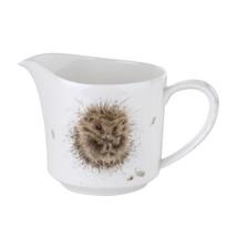 Igel Blätter Eichel Brown White Sahnekännchen Jug h9.5 x W9 x 15cm – 0.3... - $35.16