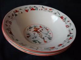 Katherine Babonovsky White Christmas soup/cereal bowl (6 sets available) - $13.99
