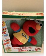 "New in box Toss and Tickle Me Elmo Plush Doll 1997 Tyco 14"" Sesame Stree... - $35.99"