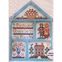 Blessing Sampler Counted Cross Stitch Kit Bucilla Gallery of Stitches c1725 - $12.99