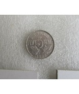Canada 1922 100% Nickel Five Cents Coin! George V Canadian 5 Cents Nickel  - $3.84