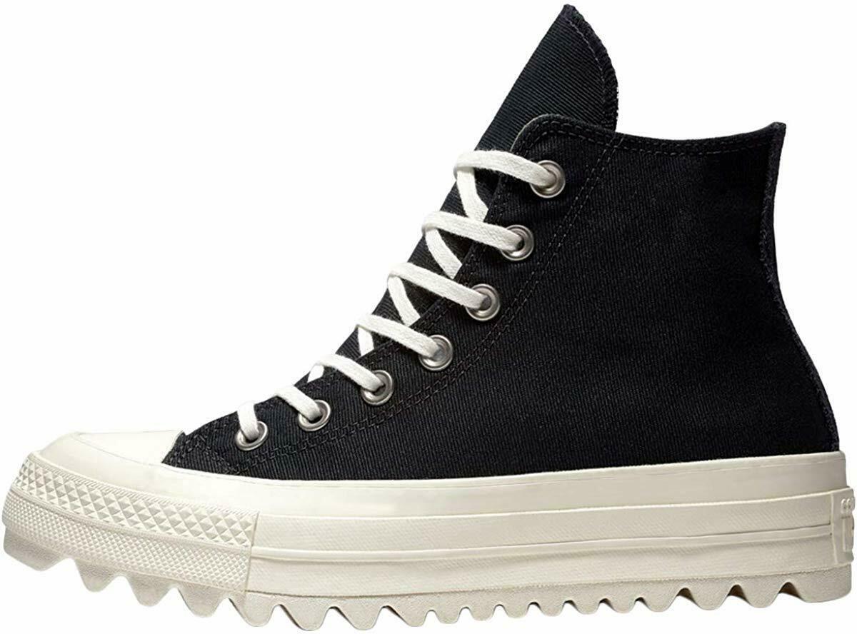 Women's Converse Chuck Taylor All Star Lift Ripple Hi, 561671C Multi Sizes Black image 2