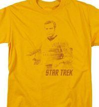 Star Trek James Kirk t-shirt The Final Frontier classic TV graphic tee CBS1121 image 3