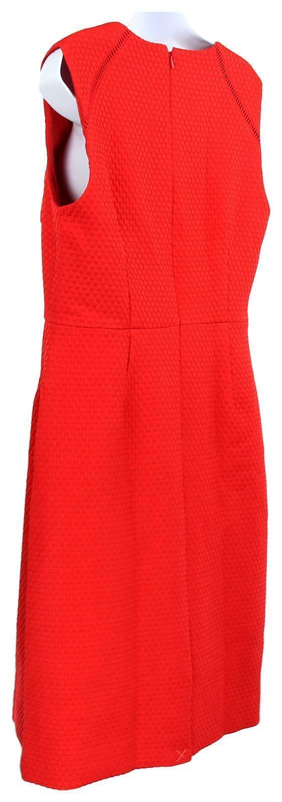 J Crew Women's Portfolio Sheath Dress /Suiting Career Work Red  12 F0791 image 5