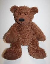 "Russ Berrie Teddy Bear 14"" Philpot Brown Shaggy Plush Soft Toy Stuffed Animal - $26.09"