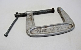 Metal C Clamp 8 Made in the USA 66703 Vintage American Made Tool - $13.87