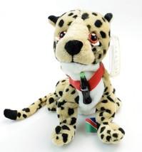 Coca-Cola Bean Bag Plush Cheetah Heeta International Collection Namibia 0249(2) - $16.80