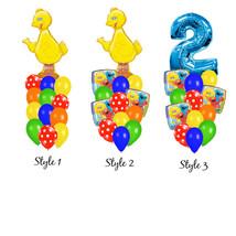 Sesame Street Party Balloon Bouquet - $18.00