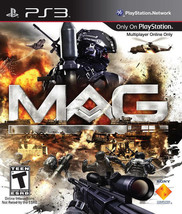 MAG Playstation 3 PS3  Disk Only - $7.75