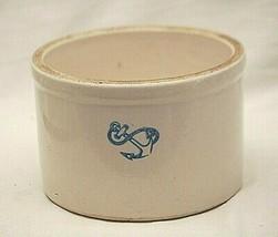 Anchor Pottery Co. Stoneware Crock Cobalt Blue Anchor Mark Americana Vin... - $123.74