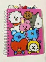 BTS tabbed Journal notebook - $18.95