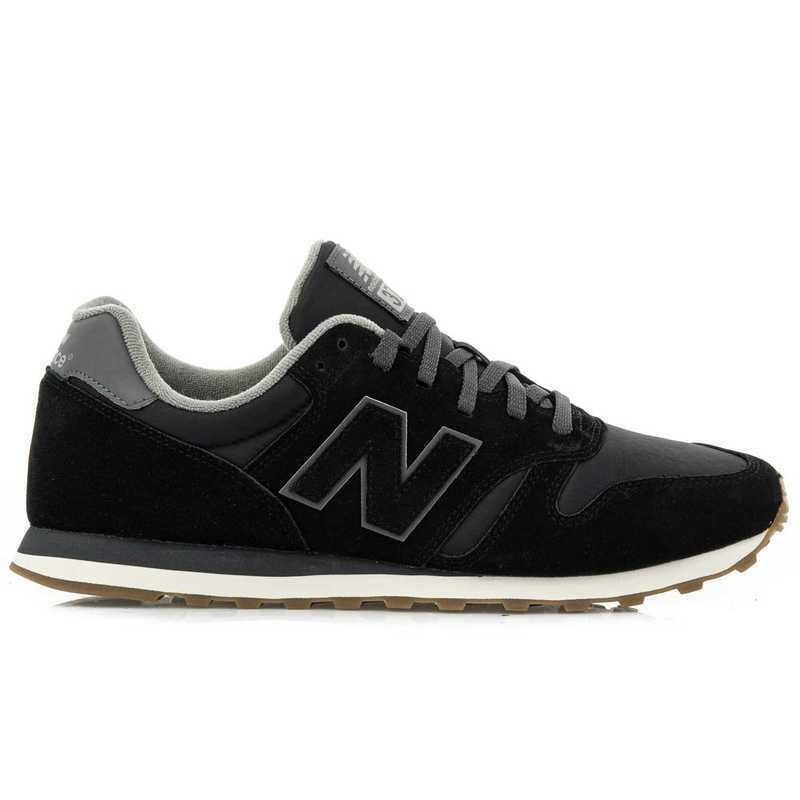 Primary image for New Balance 373 Men's Casual Shoes Fashion Sneakers Swede Black NWT ML373SA