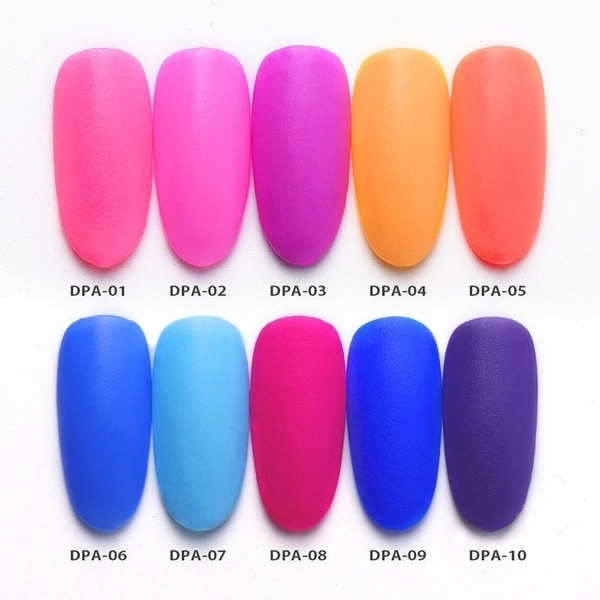 Matte Color Manicure Powder Nail Dipping Powder Nail Art Decorations  02 image 5
