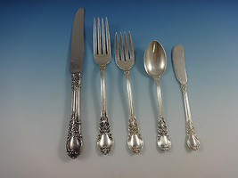 American Victorian by Lunt Sterling Silver Flatware Set 8 Service 47 Pieces - $2,795.00