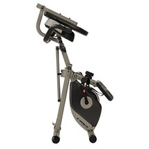 Folding Recumbent Exercise Bike Stationary Fitness Adjustable Bicycle w/... - $216.39