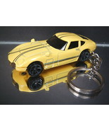 Yellow 1967 Toyota 2000 GT Key Chain Ring - $14.24