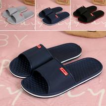 Men Breathable Flip Flop Slippers Outdoor Flat Heel Sandals Open Toe Bea... - $16.20