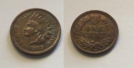 Indian Head Cent 1909 S Fantasy Souvenir Token - $14.99