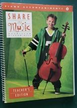Share the Music Teacher's Edition 3. Spiral Bound (Teacher's Edition 3) ... - $12.86