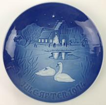 1974 B&G Copenhagen 'Christmas in the Village' Collectors Plate - $17.81