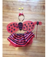 Girl Toddler Ladybug Fairy Cute Halloween Costume 2-3 Yr Old - $4.94