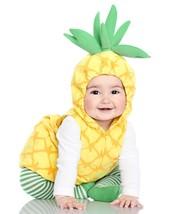 Carters Pineapple Halloween Costume 6/9 Months 3 Piece Fleece NEW - £21.39 GBP