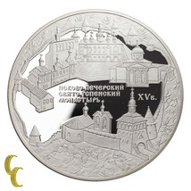 2007 Sterlingsilber 925 Russland 25 Rubel Andenken Medaille - $346.48