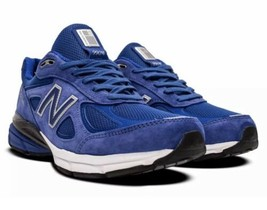 New Balance M990v4 RY4 Royal Blue Suede Running Sneakerhead Shoes Size 8 USA!! - $123.75