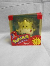 Vintage Pokemon Togepi Electronic Figure With Voice & Rocking Motion Hasbro - $49.49