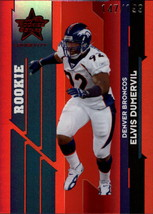 NFL 2006 Leaf Rookies & Stars Longevity Target Ruby Parallel #136 Elvis ... - $1.79
