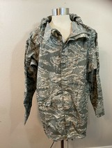 US Army Camo Water Repellent Lightweight Jacket Hunting - $32.38