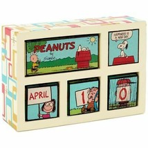 Hallmark Peanuts Happiness Is Perpetual Calendar New - $43.11