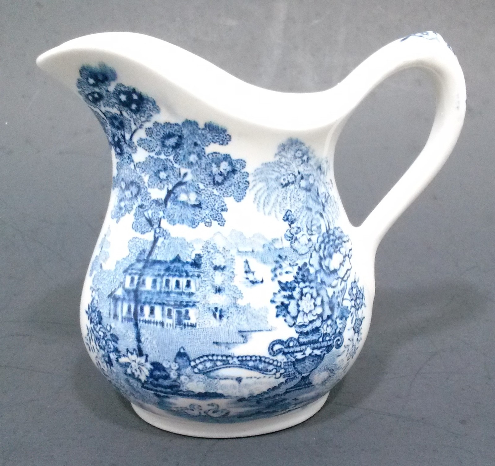 Primary image for Vintage Royal Staffordshire Tonquin Blue Mini Creamer