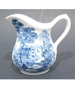 Vintage Royal Staffordshire Tonquin Blue Mini Creamer - $29.99