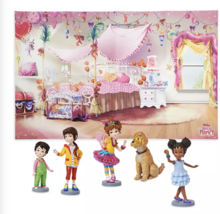 Disney Store Fancy Nancy Fold-up Illustrated Play Mat Play Set New with Box - $19.83