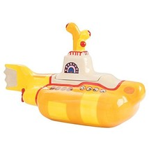 Vandor 73141 The The Beatles Yellow Submarine Shaped Sculpted Ceramic Co... - $84.16