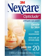 3M Eye Patch Nexcare Opticlude Orthoptic Junior Size 1 Box 20 Pcs Expire... - $9.50