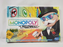 NEW SEALED Hasbro Monopoly for Millennials Board Game  - $18.49