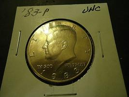 1983-P KENNEDY HALF DOLLAR COIN             >> C/S & H  - $3.96