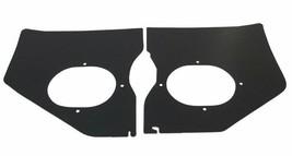 1961-1962 CHEVY IMPALA w/o A/C KICK PANELS, BLACK, PAIR - $59.35