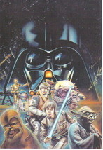 Star Wars The Empire Strikes Back 4 x 6 Art Postcard #3 - $2.00