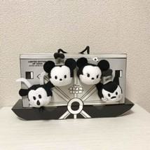 Expo 2015 Disney TSUM TSUM BOX Steamboat Willie Plush set 2000 limited F/S - $79.46