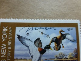 New York State Duck Stamp NY2, Artist Signed, MNH - $9.99
