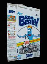 Boo Berry Vintage Cereal Box Empty Box General Mills Cereal Monsters Mon... - $39.99