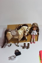 Bratz doll Horse Rider with Horse extra boots lot - $19.95