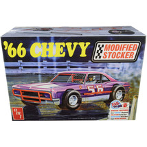 Skill 2 Model Kit 1966 Chevrolet Impala Modified Stocker 1/25 Scale Mode... - $61.28